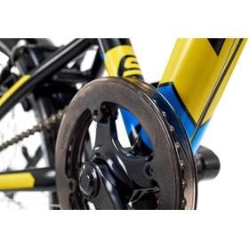 s'cool XXlite 20 7-S - Vélo enfant - steel jaune/noir